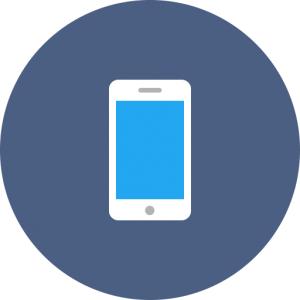 Cell phones symbol