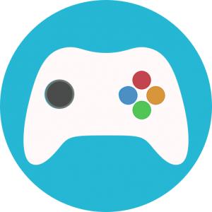Game consoles symbol