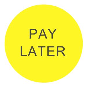 Pay afterwards logo